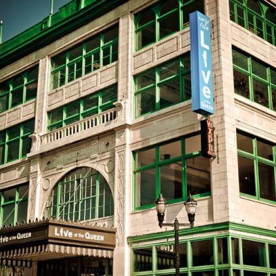 The Queen Theater Commercial built by BPGS Construction