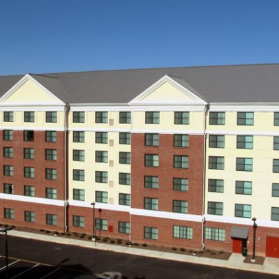 Hilton Homewood Suites Newark Hospitality by BPGS Construction