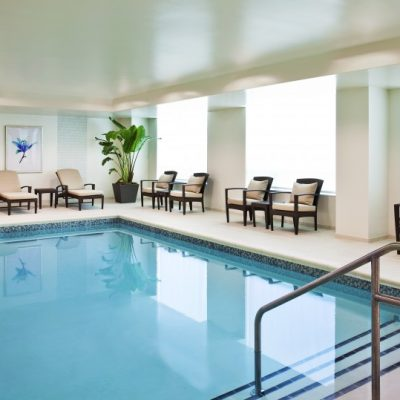 Westin Wilmington Indoor Pool by BPGS Construction