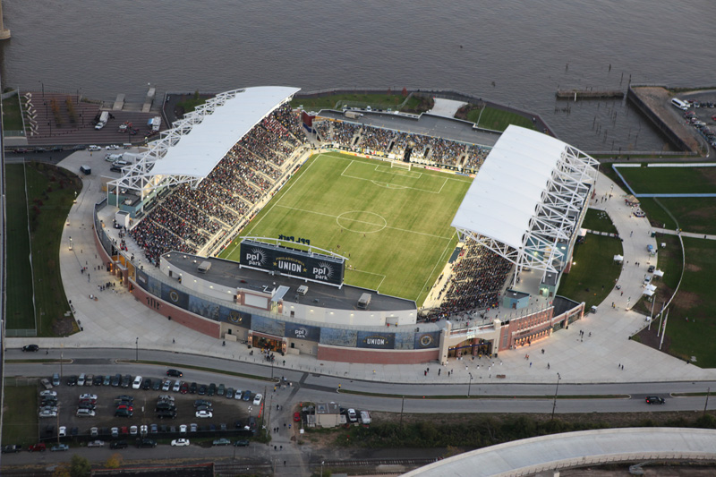 Talen Energy Stadium Bpgs Construction