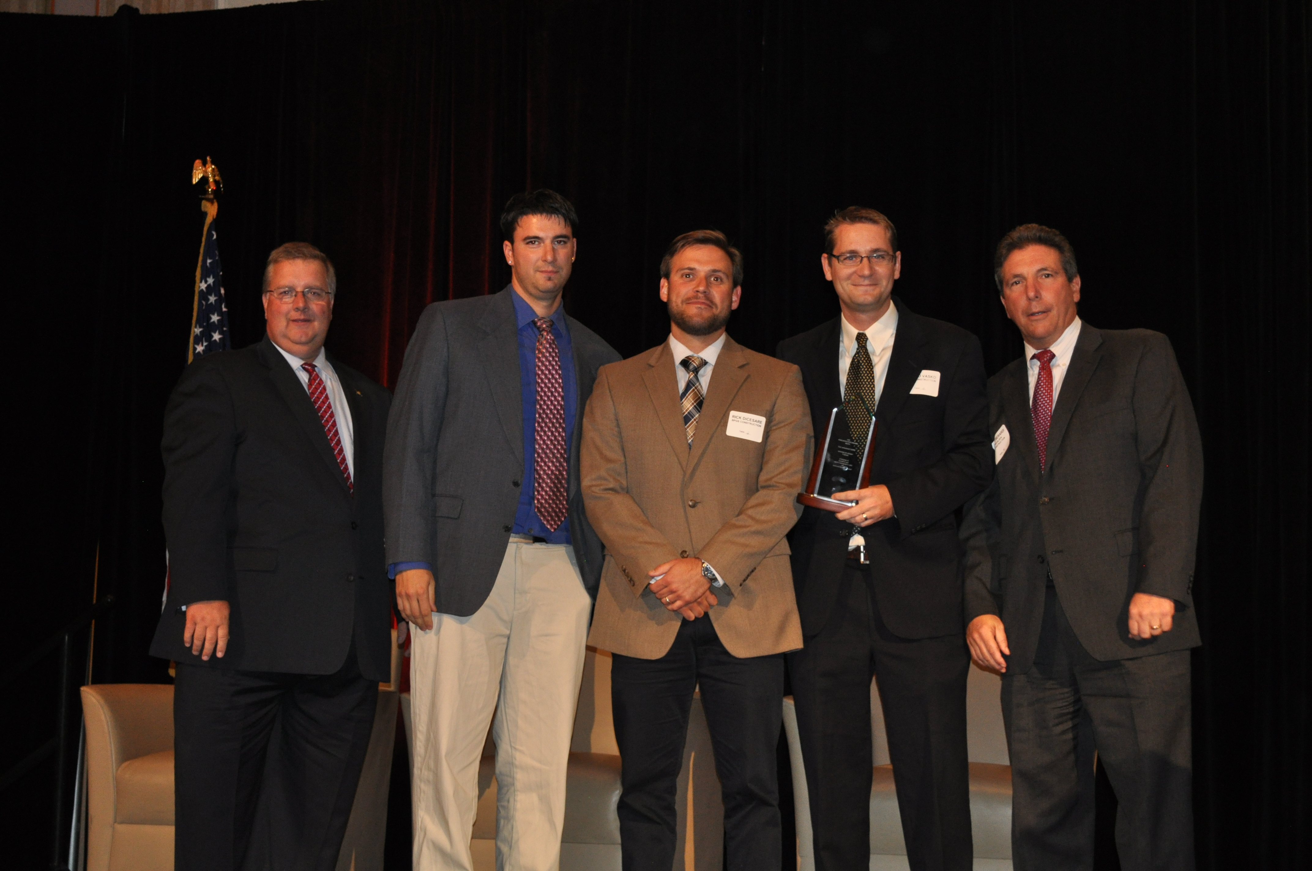 2014 CONSTRUCTION EXCELLENCE AWARD