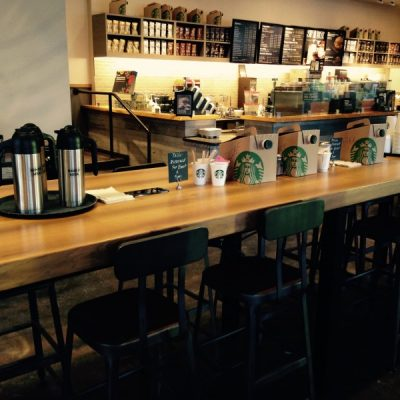 Starbucks Commercial built by BPGS Construction