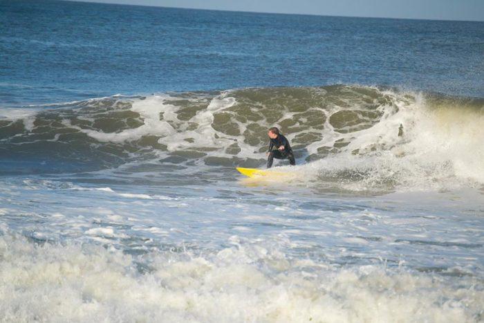 Kyle Engelken Surfing