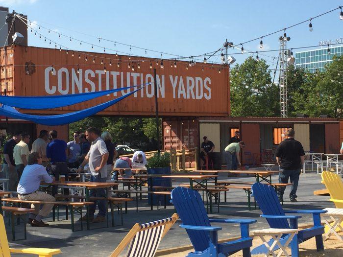 BPGS Construction Constitution Yards Beer Garden