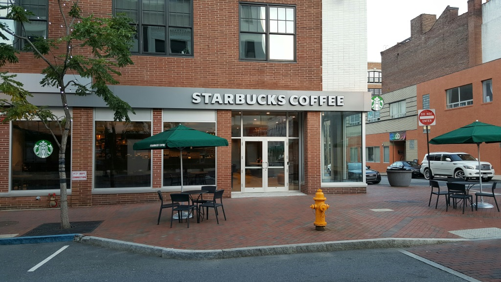 Starbucks wilmington de construction