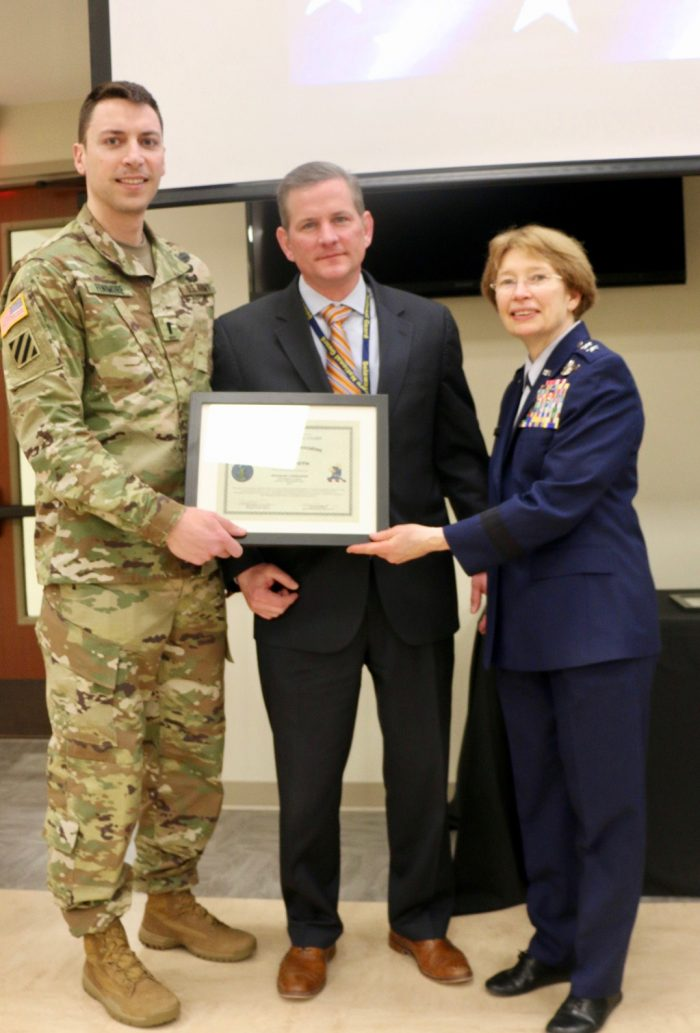 John Groth - Honorary Commander of the 160th Engineer Company, Delaware Army National Guard