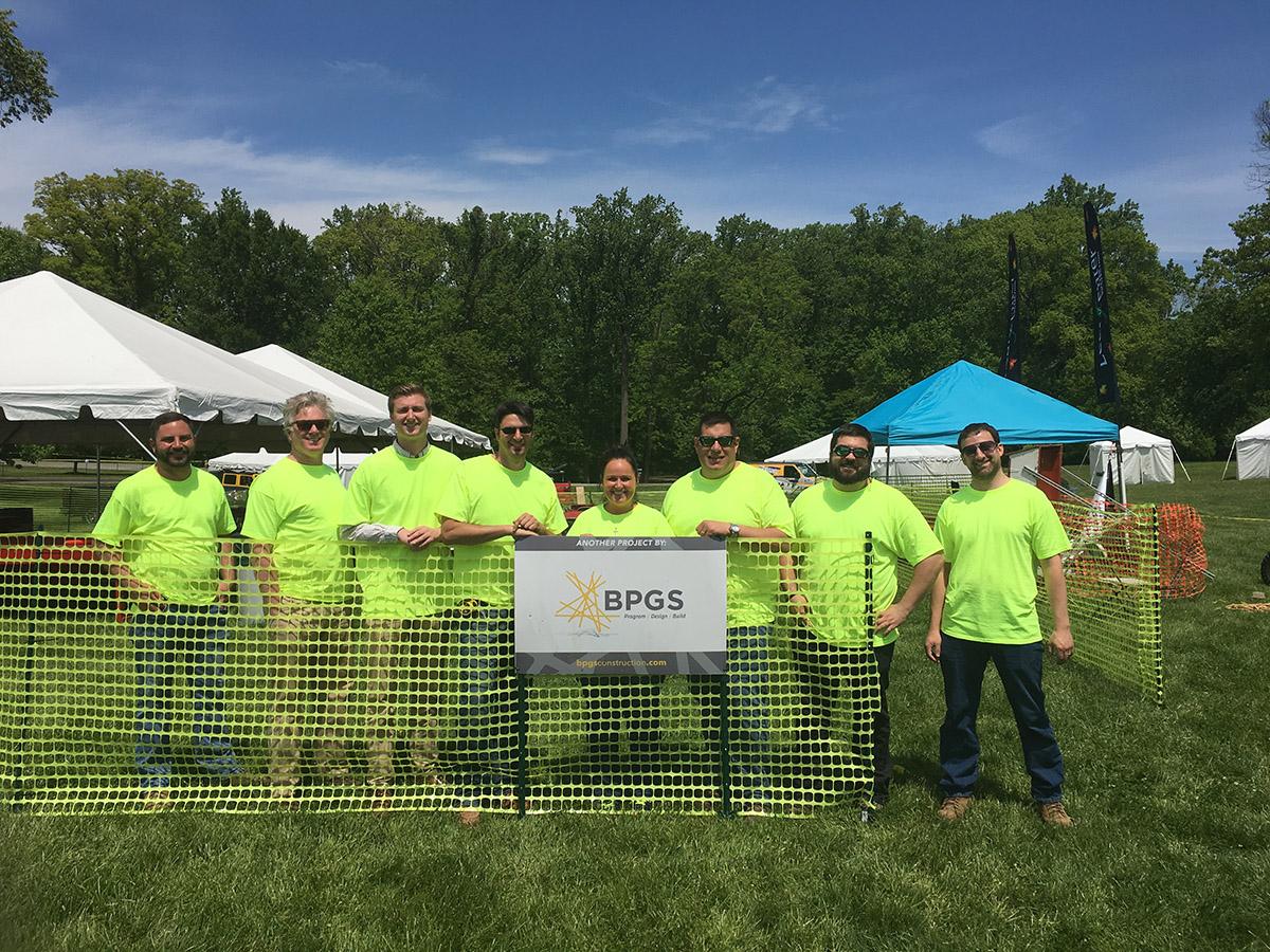 BPGS Construction Volunteering