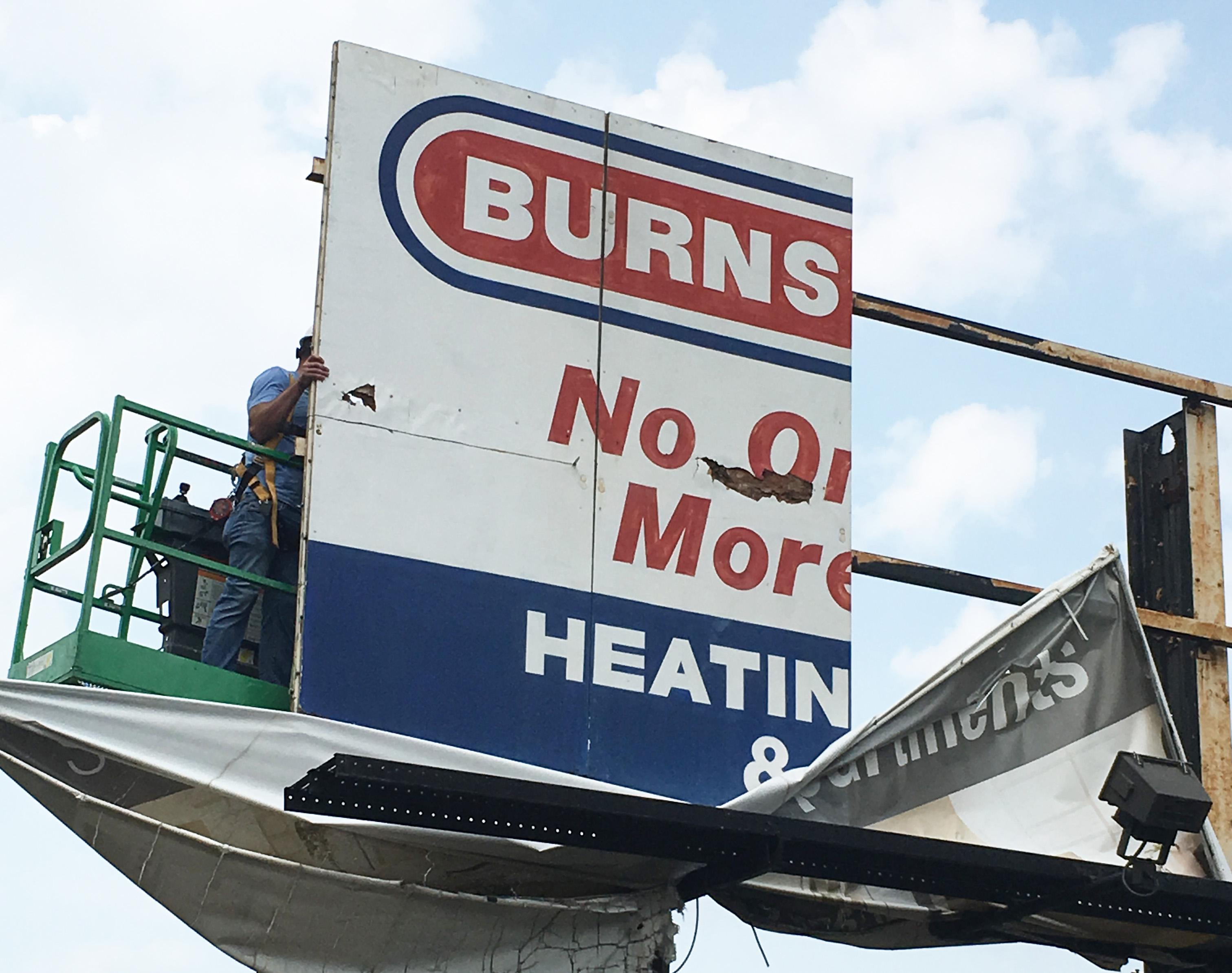 BPGS Construction Billboard Replacement