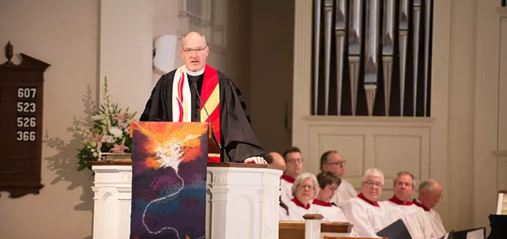 The Rev. Dr. Douglas D. Gerdts, Pastor/Head of Staff