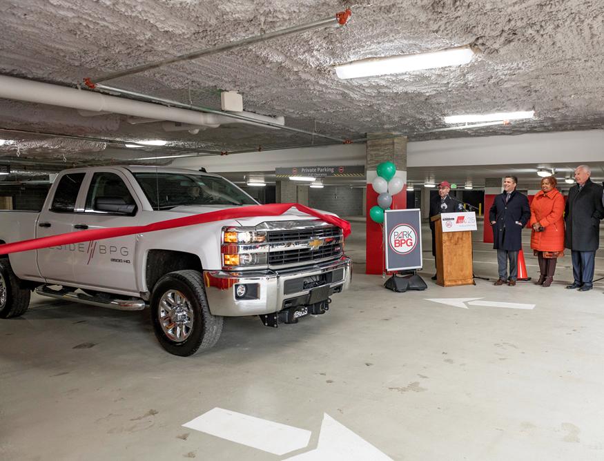 Mid-town Parking Garage Wilmington DE BPGS Construction