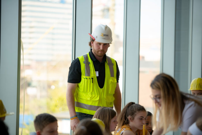 Take Your Daughters and Sons to Work Day BPGS Construction