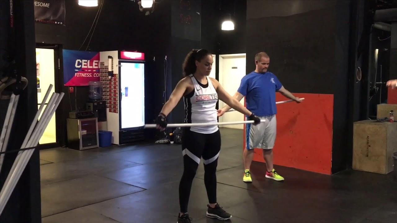 Clare Catka CoreTen Fitness Success Story BPGS Construction