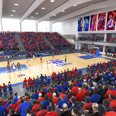 76ers Fieldhouse BPGS Construction