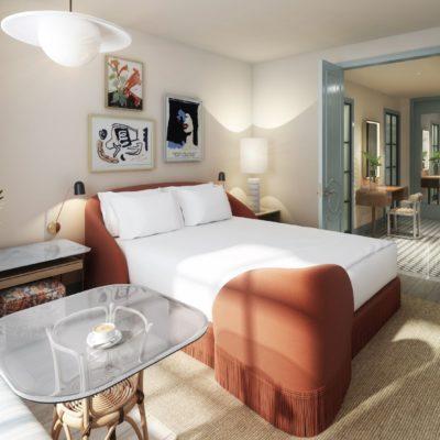Virgin Hotel New Orleans BPGS Construction - Chamber Lounge