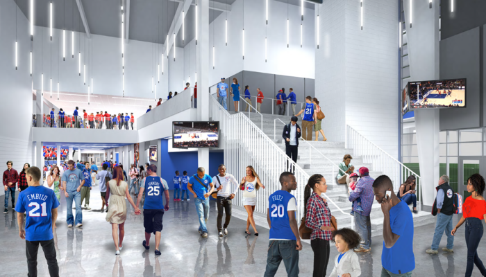 BPGS Construction 76ers fieldhouse project