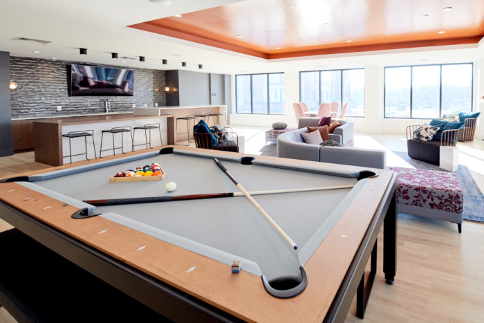 The Concord Apartments Amenities Spaces are Complete ...