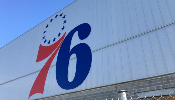 76ers fieldhouse supergraphic