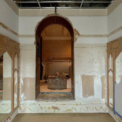 before - entry vestibule
