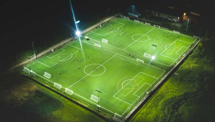 Expansion Fields at chase Fieldhouse Night