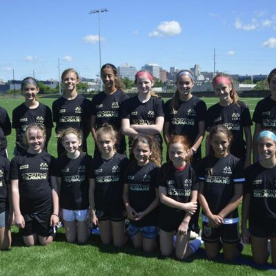 Sporting Delaware Travel Soccer Camp on Expansion Fields at Chase Fieldhouse