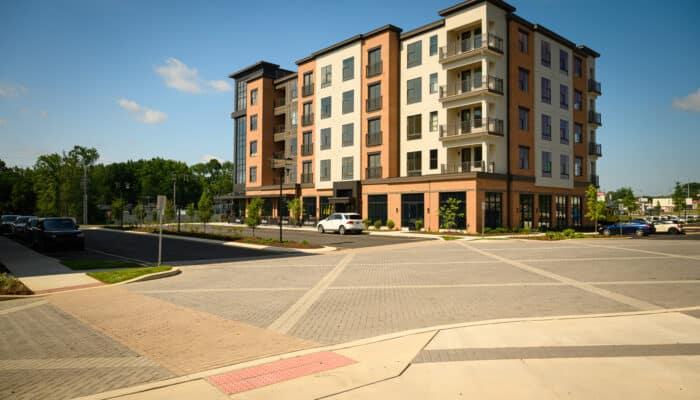 Mixed-use building at The Concord Wilmington DE
