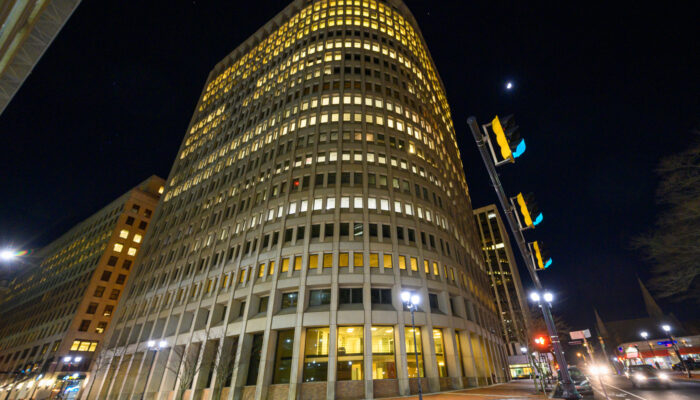 Brandywine Building at Night